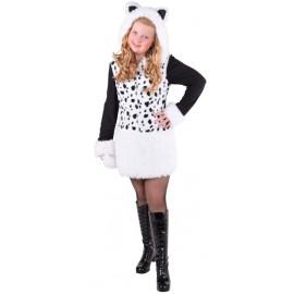 Déguisement chat dalmatien fille luxe