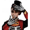 Gants squelette adulte