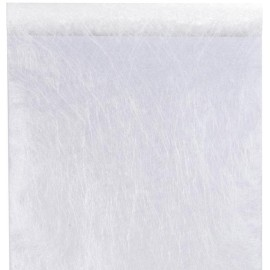 Chemin de table fanon blanc 5 M