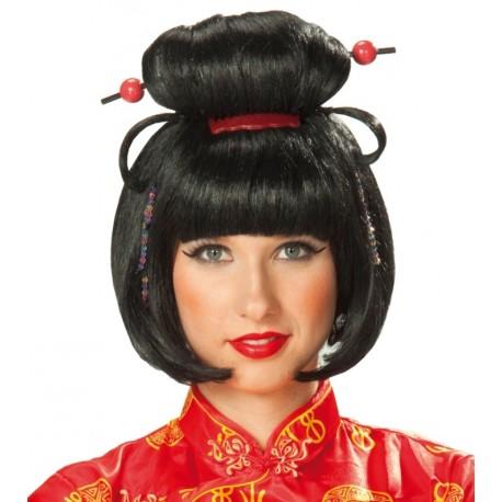 Perruque geisha femme japonaise