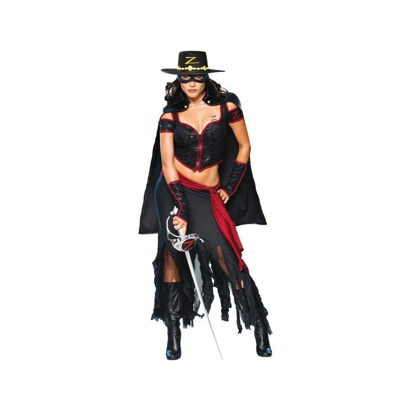 Déguisement Lady Zorro™ Deluxe Adulte Déguisements Zorro femme