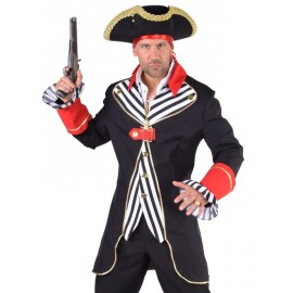 Déguisement capitaine pirate homme luxe