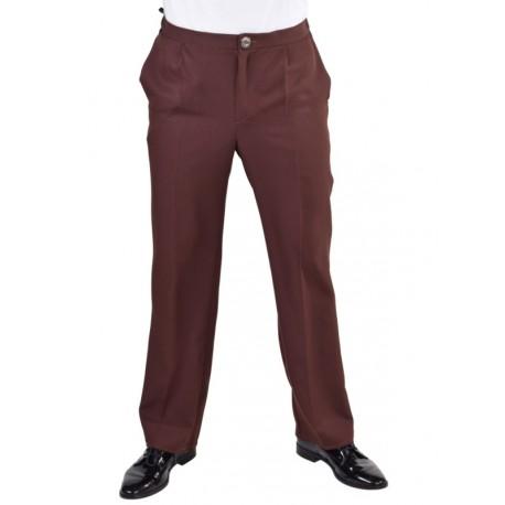 Déguisement pantalon brun homme luxe