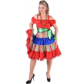 Déguisement mexicaine femme luxe