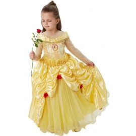 Déguisement Belle Disney™ fille princesse Premium