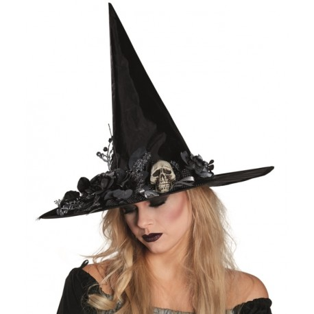 chapeau sorci re femme halloween achat chapeaux halloween sorcieres. Black Bedroom Furniture Sets. Home Design Ideas