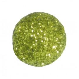 Mini boules pailletées vert amande les 50