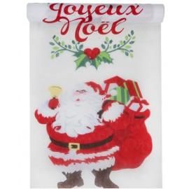 Chemin de table Joyeux Noël intissé 5 M