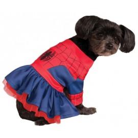 Déguisement pour chien Spidergirl™