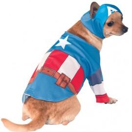Déguisement pour chien Captain America™