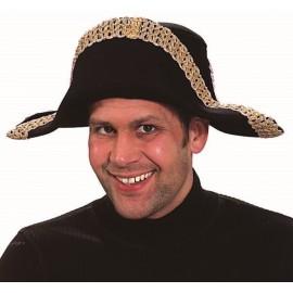 Chapeau Napoléon adulte luxe (bicorne)