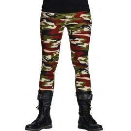 Legging militaire femme