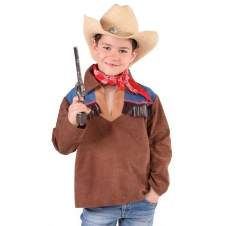 Déguisement chemise cowboy garçon luxe
