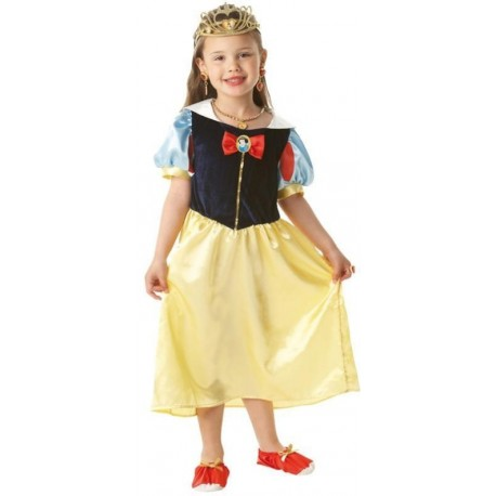 Déguisement Blanche Neige™ fille Disney™ Boîte vitrine