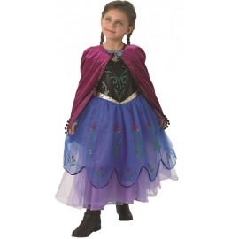 Déguisement Anna Frozen™ La Reine des Neiges™ fille Premium