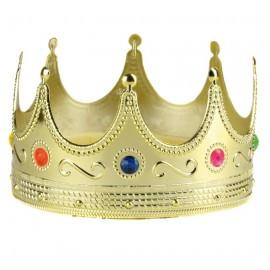 Couronne de roi or adulte et enfant