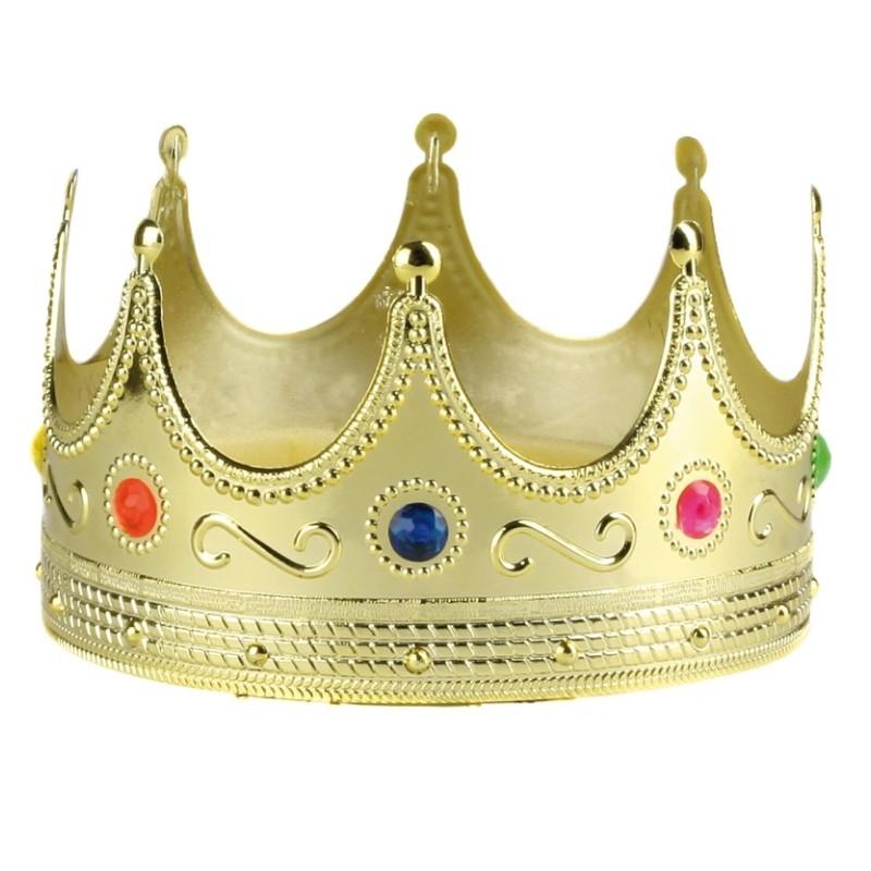 Couronne de roi or adulte et enfant couronne royale - Image couronne des rois ...