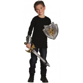 Set chevalier enfant 3 pcs (en plastique)