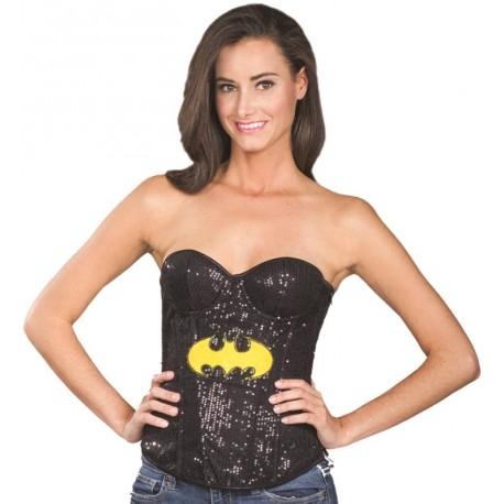 Déguisement Bustier corset Batgirl™ femme