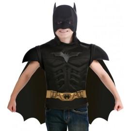 Déguisement cape Batman™ avec plastron garçon
