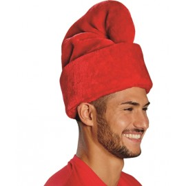 Bonnet de nain rouge adulte luxe