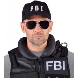 Casquette FBI noire adulte et enfant luxe