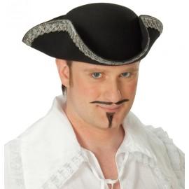 Chapeau tricorne pirate adulte
