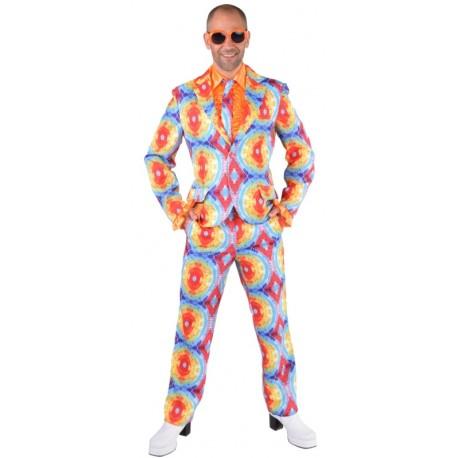 Déguisement costume hippie batik homme luxe