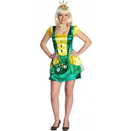 déguisement princesse grenouille ado fille : achat déguisements ado