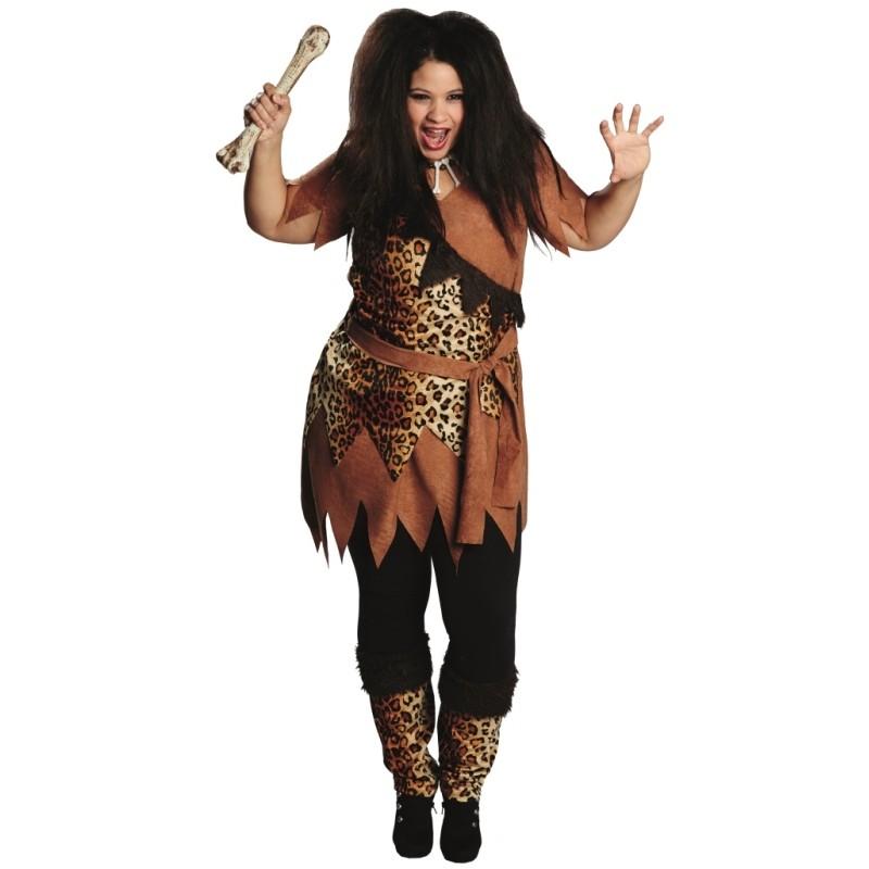 Maquillage femme des cavernes - Deguisement rebelle adulte ...