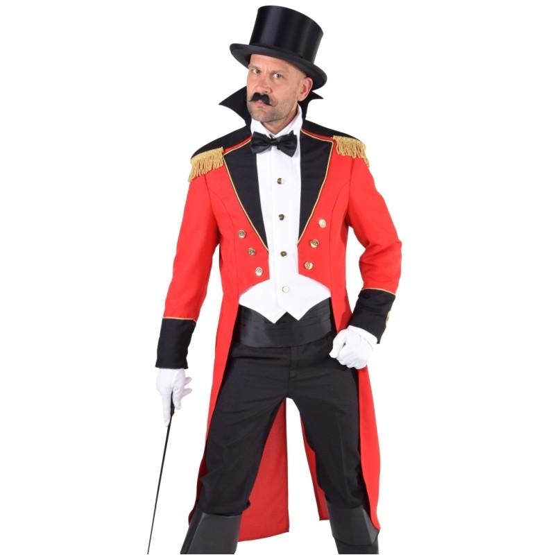 Déguisement directeur de cirque homme luxe