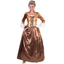 Déguisement marquise brun femme luxe
