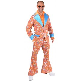 Déguisement costume hippie paisley homme luxe
