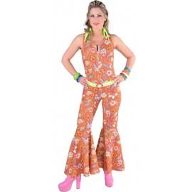 Déguisement hippie paisley femme 70's luxe