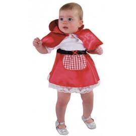 Déguisement chaperon rouge bébé fille luxe