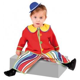 Déguisement clown bébé luxe