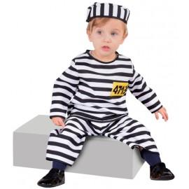 Déguisement Prisonnier bébé luxe