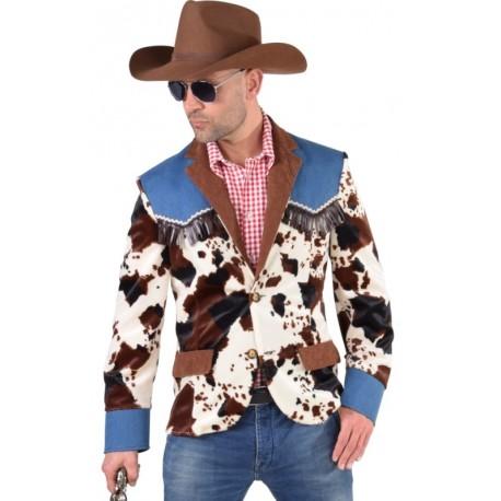 Déguisement veste cowboy homme luxe