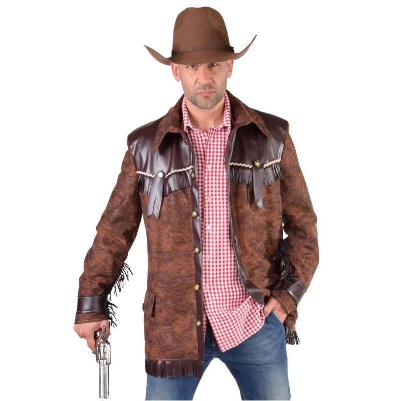 D guisement manteau cowboy homme d guisements cowboy western adulte - Deguisement western homme ...