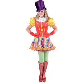 Déguisement clown femme luxe