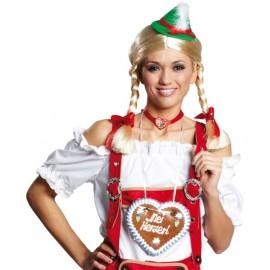 Déguisement Blouse bavaroise blanche femme
