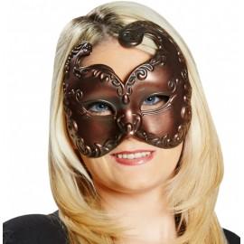 Masque vénitien cuivré adulte