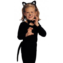Set accessoires déguisement chat enfant
