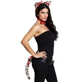 Set léopard femme sexy 3 pcs