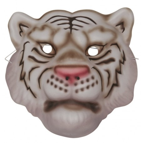 Masque Tigre Blanc Enfant Achat Masques Carnaval Enfant