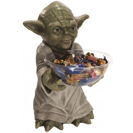 Pot à bonbons Maître Yoda™ Candy Bowl Holder