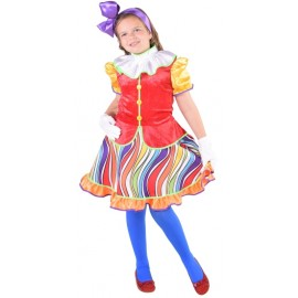 Déguisement clown fille luxe