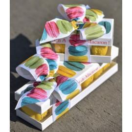 Boîte à macarons en carton pour 8 macarons x 1