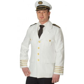 Déguisement veste capitaine marin homme