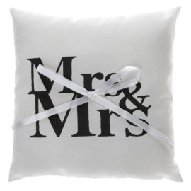 Coussin alliances Mr & Mrs